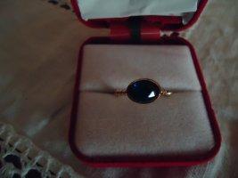 Damenring blauer Stein Modeschmuck