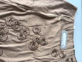 Dorothee Schumacher Silk Skirt camel silk