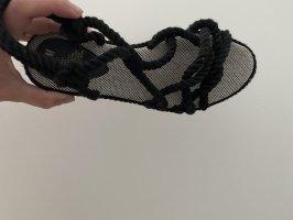 H&M Strapped Sandals black