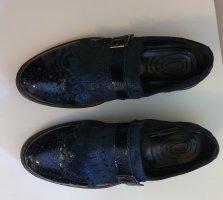 Igi&co Zapatos estilo Oxford azul oscuro