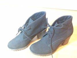 Botines Chelsea azul oscuro-negro