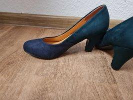 Damenschuhe Blau/Grün