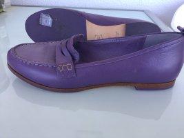 Flip*flop Mocassins violet cuir