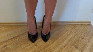 Damenschuhe Größe 39 (Pumps schwarz)
