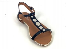 Outdoor sandalen zwart-zilver