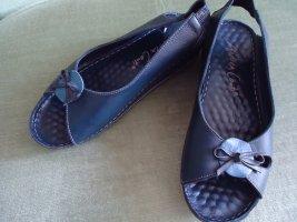 Damenschuhe Sandaletten blau
