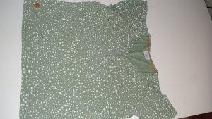 Gina T-Shirt grass green-green grey cotton