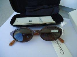 Calvin Klein Gafas Retro marrón-negro-marrón