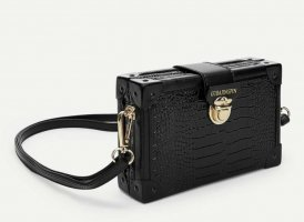 100% Fashion Carcasa para teléfono móvil negro