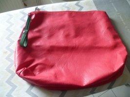 Damentasche schlichte, elegante Handtasche Leder pink