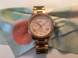 Fossil Reloj digital color oro