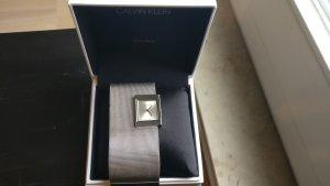 Calvin Klein Horloge met metalen riempje zilver Edelstaal