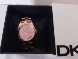 Marc Jacobs Horloge met metalen riempje nude-stoffig roze Metaal