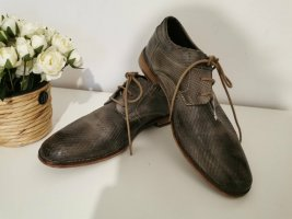 Daniel Hechter Lace Shoes light brown-grey brown leather