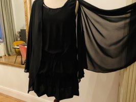 Karen by Simonsen Chiffon Dress black chiffon