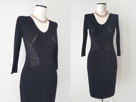 Stefanel Knitted Dress black viscose