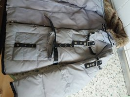 Chillytime Down Jacket silver-colored-black nylon
