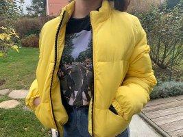 Daunenjacke Gelb