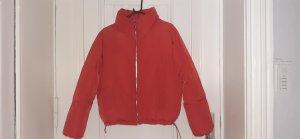 Daunenjacke in rot von H&M zu verkaufen