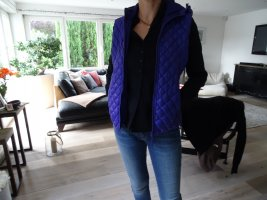 Donsvest blauw-paars-donkerpaars Polyester