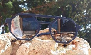 Gafas de sol cuadradas multicolor acetato