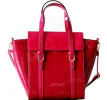 """DAVID & JONES""  LACKLEDER  HENKEL TASCHE"
