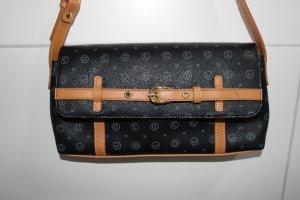 DAVID JONES Leder Damen Handtasche mit Monogramm