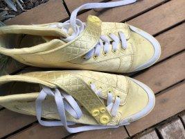 DC Sneaker goldgelb