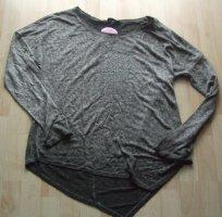 Decay Langarmshirt mit Strass - Gr. XL