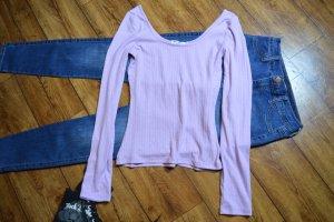 Nakd Camisa tipo Carmen púrpura