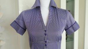 Dekorative Bluse von s.Oliver, Gr.34, strahlende Streifen, geknöpft, casual
