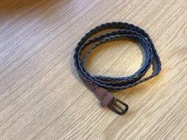 Braided Belt brown-dark brown