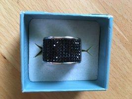 DeKoster Ring mit schwarzen Steinen