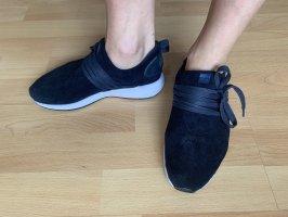 Delray Wavey Sneaker Turnschuhe Leder dunkelblau leicht Sommer