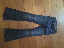 Denham Jeans flare multicolore coton