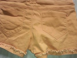 Denim & Co Shorts Orange 34-36 xs-s 36