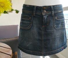 Denim: Kurzer Jeansrock, Gr. 36, edc by Esprit, mit Taschen vorne und hinten