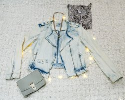 Denim Love | Wunderschöne Jeansjacke von Zara