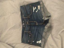 Hollister Jeansowe szorty ciemnoniebieski
