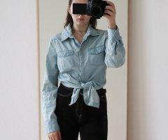 Denim Vintage Bluse