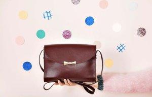 Des Petits Hauts Handtasche aus Leder - Made in Italy