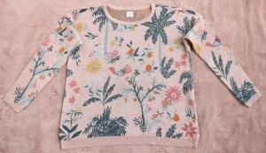 "Des Petits Hauts Paris ""Agata"" Jacquard  Sweater, F/ S 2020"