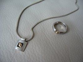 Bague en argent argenté métal
