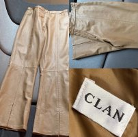 Clan Pantalone in pelle cognac