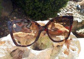 Gucci Gafas mariposa multicolor Acrílico