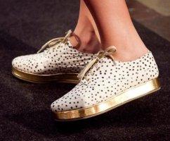 Designer Stine Goya Sneaker Faltforms Gr. 37 begehrt Blogger Dalmatiner Dots Punkte