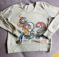 Conleys V-Neck Sweater light grey