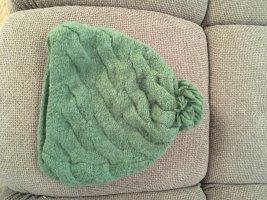 Fur Hat khaki alpaca wool