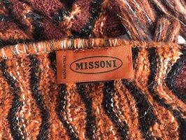 Missoni Woolen Scarf russet wool