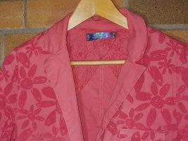 Desigual Klassischer Blazer pink
